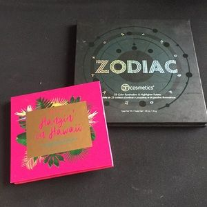 Bh Cosmetics Zodiac+Hangin in Hawaii palettes